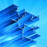 σύστημα στρατηγικής έννοι&alph Στοκ φωτογραφία με δικαίωμα ελεύθερης χρήσης
