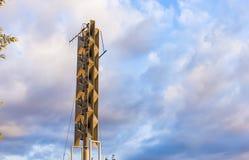 Σύστημα συναγερμών αέρα σειρήνων Στοκ φωτογραφία με δικαίωμα ελεύθερης χρήσης