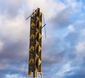 Σύστημα συναγερμών αέρα σειρήνων Στοκ εικόνες με δικαίωμα ελεύθερης χρήσης