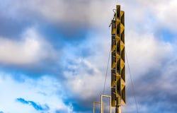 Σύστημα συναγερμών αέρα σειρήνων Στοκ Φωτογραφία