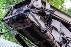 Σύστημα Hydrolic του γερανού Στοκ φωτογραφία με δικαίωμα ελεύθερης χρήσης