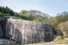 Σώμα επιτυμβίων στήλη Yangshan στοκ εικόνες