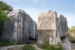 Σώμα επιτυμβίων στήλη Yangshan στοκ φωτογραφία