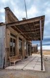 σώμα Καλιφόρνια 20 2006 κατοικημένη όχι pripyat σπίτια πόλη φαντασμάτων που έτη αυλών εγκαταλειμμένος storefront Στοκ Εικόνες