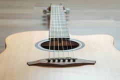 Σώμα της κιθάρας Στοκ εικόνα με δικαίωμα ελεύθερης χρήσης