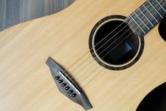 Σώμα της κιθάρας Στοκ εικόνες με δικαίωμα ελεύθερης χρήσης