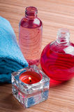 σώμα bottle care spa Στοκ εικόνα με δικαίωμα ελεύθερης χρήσης