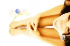 σώμα care girl spa Στοκ εικόνα με δικαίωμα ελεύθερης χρήσης