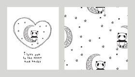 Σ' αγαπώ στο φεγγάρι και την πλάτη Στοκ φωτογραφία με δικαίωμα ελεύθερης χρήσης