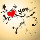Σ' αγαπώ Στοκ Εικόνα