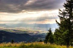 Σλοβάκικα βουνά στοκ φωτογραφία