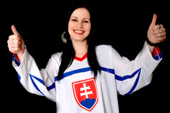 Σλοβάκικος ανεμιστήρας Στοκ φωτογραφία με δικαίωμα ελεύθερης χρήσης