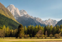 Σλοβένικα όρη Στοκ φωτογραφία με δικαίωμα ελεύθερης χρήσης
