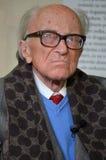 Σλοβένικος ιταλικός συγγραφέας Boris Pahor Στοκ Εικόνα