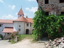 Σλοβένικο κάστρο, ένα μίγμα των αντικών και αποκατάσταση Στοκ φωτογραφίες με δικαίωμα ελεύθερης χρήσης