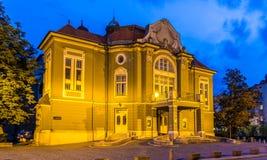Σλοβένικο δράμα Ljubljanska εθνικών θεάτρων Στοκ φωτογραφία με δικαίωμα ελεύθερης χρήσης