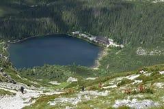 Σλοβακία, εθνικό πάρκο Vysoke Tatry Στοκ εικόνα με δικαίωμα ελεύθερης χρήσης
