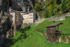 Σλοβενία και το Predjama Castle στοκ φωτογραφία με δικαίωμα ελεύθερης χρήσης