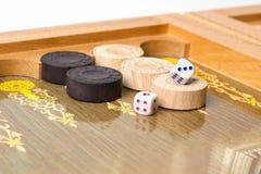 Τάβλι επιτραπέζιων παιχνιδιών Στοκ Εικόνες