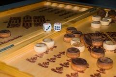 Τάβλι επιτραπέζιων παιχνιδιών Στοκ Εικόνα