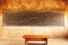 τάξη στο χωριό masai, Τανζανία Στοκ φωτογραφία με δικαίωμα ελεύθερης χρήσης