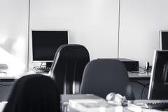 Τάξη - δωμάτιο PC στοκ εικόνες