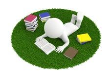 Τάπητας βιβλίων ανάγνωσης στοκ εικόνα με δικαίωμα ελεύθερης χρήσης