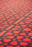 Τάπητας με τα αστέρια στο αραβικό μουσουλμανικό τέμενος Στοκ εικόνες με δικαίωμα ελεύθερης χρήσης