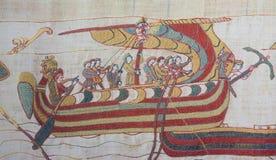 Τάπητας του Bayeux στοκ εικόνα με δικαίωμα ελεύθερης χρήσης