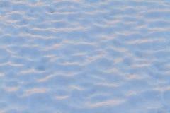 Τάπητας χιονιού στο ηλιοβασίλεμα Στοκ φωτογραφία με δικαίωμα ελεύθερης χρήσης