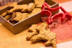 τάρανδος μπισκότων Στοκ Εικόνα