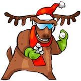 τάρανδος Χριστουγέννων Στοκ Εικόνα