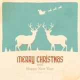 Τάρανδος Χριστουγέννων Στοκ Εικόνες
