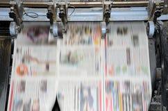 τάση εκτύπωσης όφσετ στοκ εικόνα