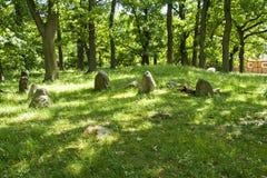 Τάφοι Εποχής του σιδήρου Perslund Στοκ εικόνες με δικαίωμα ελεύθερης χρήσης