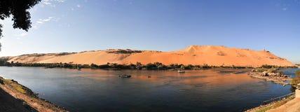 Τάφοι του Nobles - του Aswan, Αίγυπτος Στοκ εικόνα με δικαίωμα ελεύθερης χρήσης