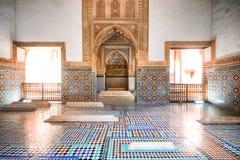 Τάφοι Saadian, Μαρακές, Marocco στοκ φωτογραφία με δικαίωμα ελεύθερης χρήσης