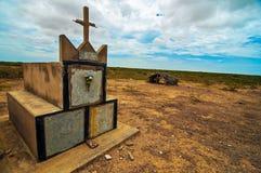 Τάφοι Wayuu στοκ φωτογραφίες