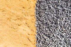 Τάφος, άμμος και πέτρα στη δημιουργική σύσταση και σχέδιο για το σχέδιο στοκ φωτογραφία με δικαίωμα ελεύθερης χρήσης