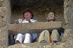 Τάφος ζευγών Toraja στοκ φωτογραφία με δικαίωμα ελεύθερης χρήσης
