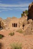 Τάφος κήπων, Petra στοκ εικόνες με δικαίωμα ελεύθερης χρήσης