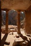 Τάφος κήπων, Petra στοκ εικόνες