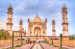 Τάφος Κα Maqbara Bibi, επίσης γνωστός ως μίνι Taj Mahal Aurangabad, Ινδία στοκ εικόνες με δικαίωμα ελεύθερης χρήσης