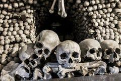Τάφος κόκκαλων με 40.000 κόκκαλα μέσα Στοκ εικόνα με δικαίωμα ελεύθερης χρήσης