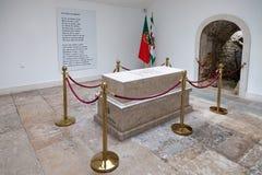 Τάφος με τα υπολείμματα ενός πεσμένου άγνωστου στρατιώτη στο αναμνηστικό παρεκκλησι Στοκ εικόνες με δικαίωμα ελεύθερης χρήσης