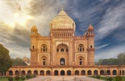 Τάφος Νέο Δελχί, Ινδία Humayun Στοκ Φωτογραφία