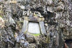 Τάφος της Νίνα και Edvard Grieg Μπέργκεν Νορβηγία Στοκ Εικόνες
