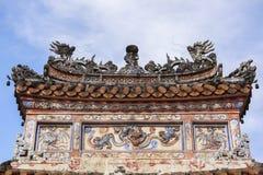 Τάφος του αυτοκράτορα TU Duc στο χρώμα, Βιετνάμ Στοκ εικόνες με δικαίωμα ελεύθερης χρήσης