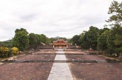 Τάφος του βασιλιά Minh Mang στο χρώμα, Βιετνάμ Στοκ Φωτογραφία