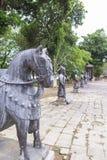 Τάφος του βασιλιά Minh Mang στο χρώμα, Βιετνάμ Στοκ εικόνες με δικαίωμα ελεύθερης χρήσης